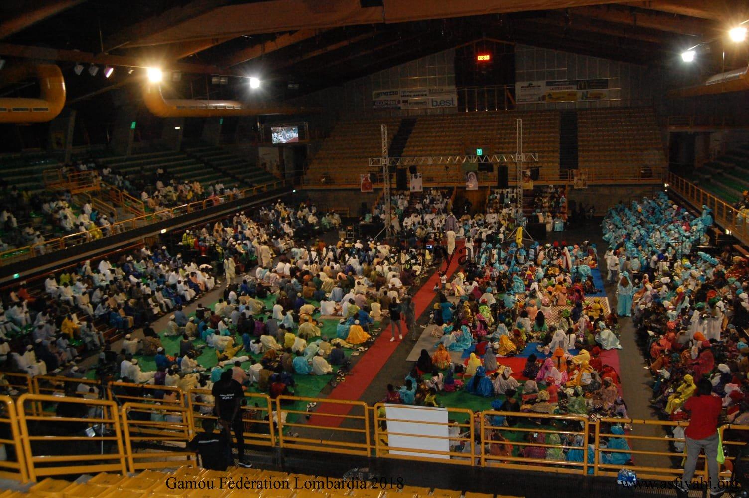 PHOTO - ITALIE - BRESCIA : Gamou Clôture tournée Italienne du Khalif Général des Tidianes Serigne Mbaye SY Mansour