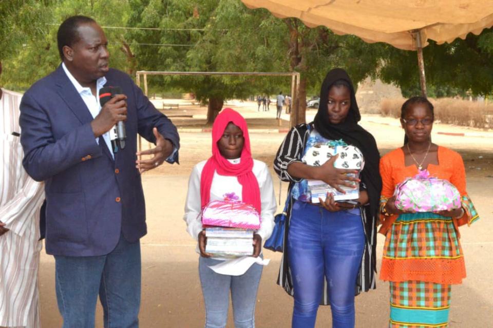 CONTRAT D'EXCELLENCE ! Discours de de Serigne Habib SY Ibn Al Maktoum adressé aux élèves du Lycée Malick SY de Thies