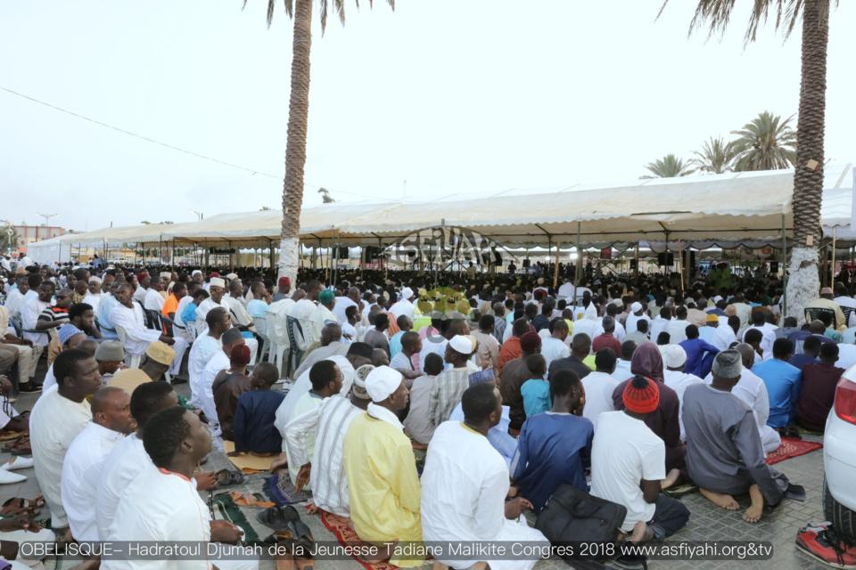 PHOTOS OBELISQUE - Les images de la Hadratoul Djumah du Congrès 2018 de la jeunesse Tidiane Malikite