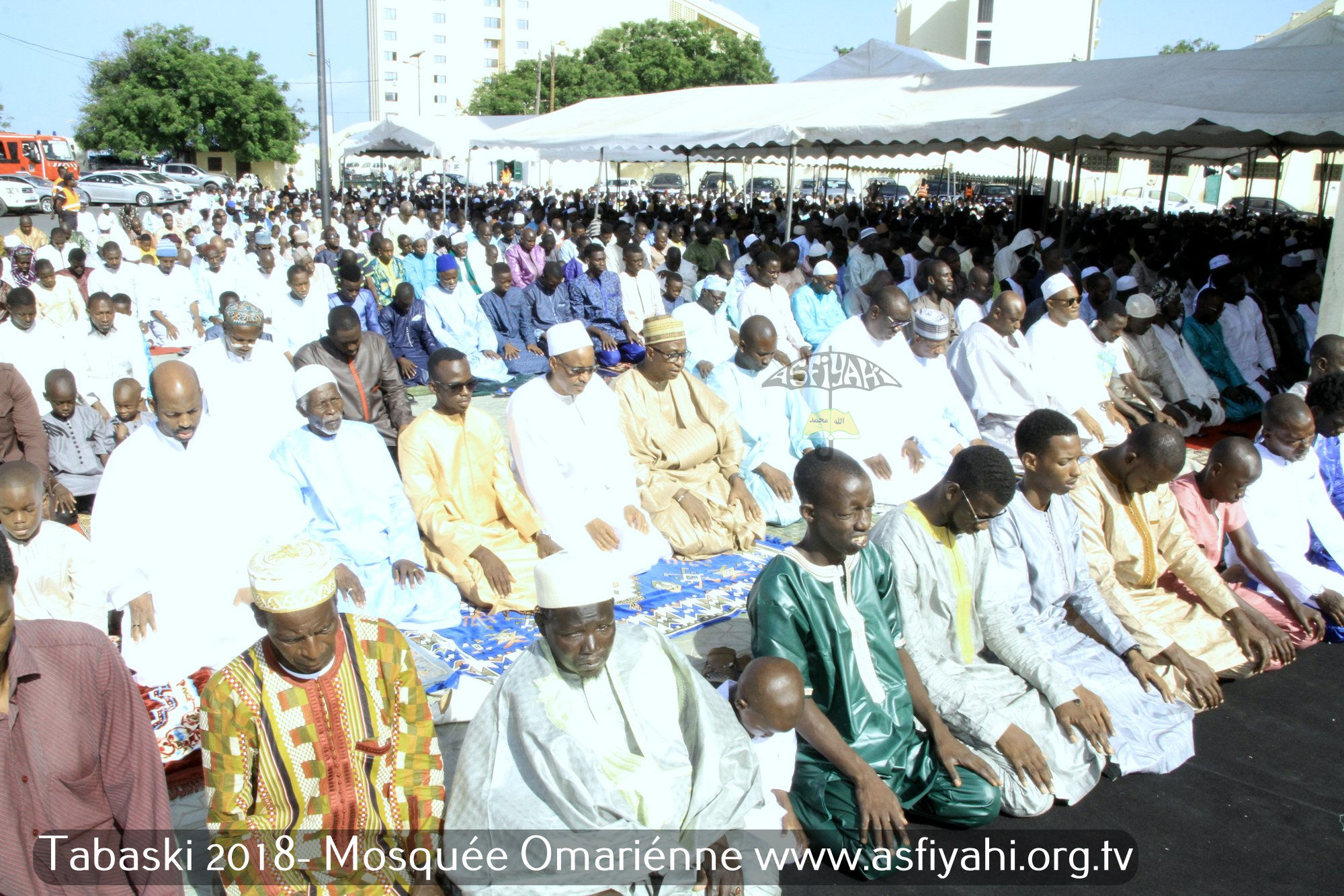 PHOTOS - TABASKI 2018 - Les Images de la Priere de la Tabaski 2018 à la Mosquée Omarienne de Dakar