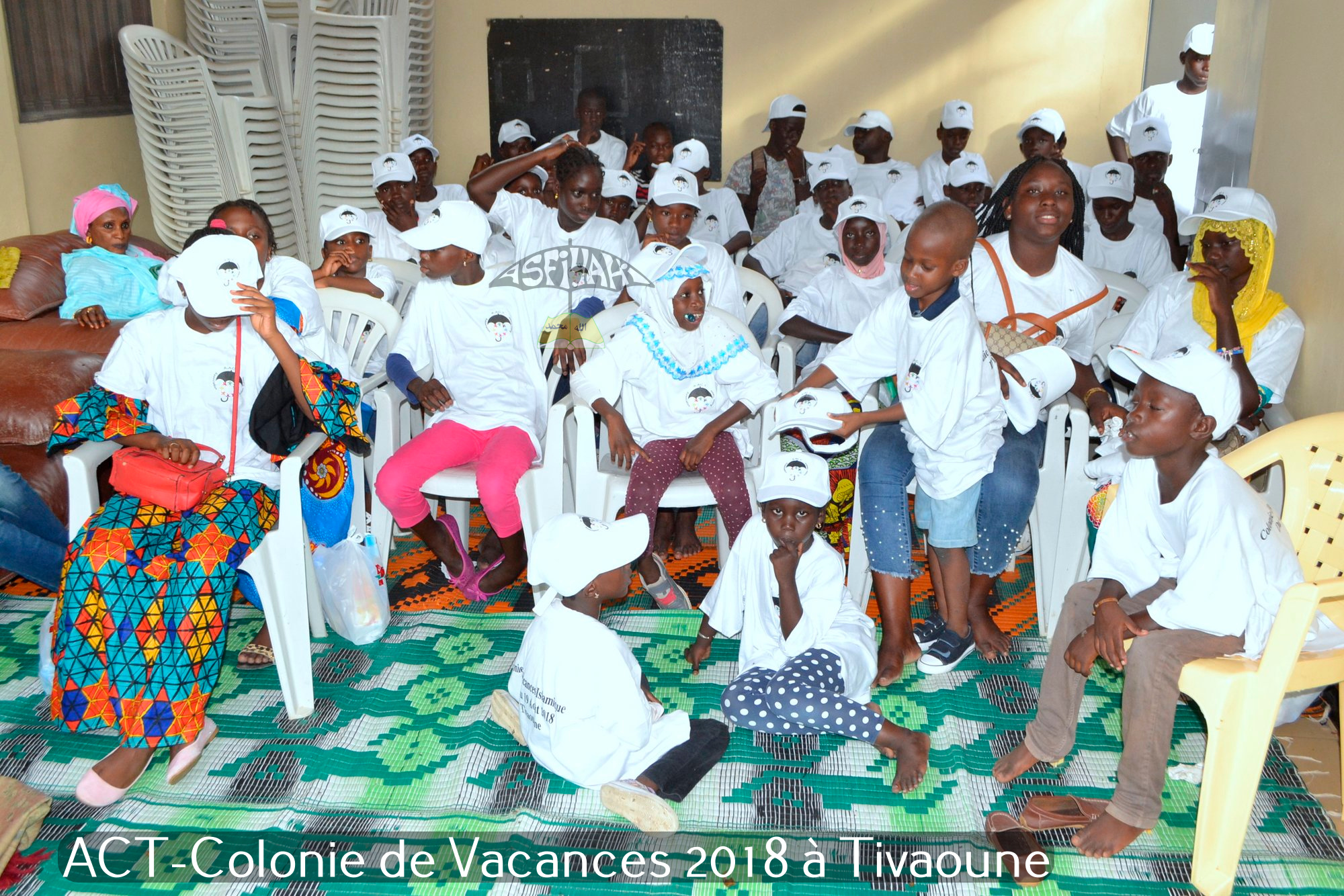 PHOTOS - TIVAOUANE 2018 -  Les Images de la Colonie de Vacances 2018 à Tivaouane de l'association Action Tidiane