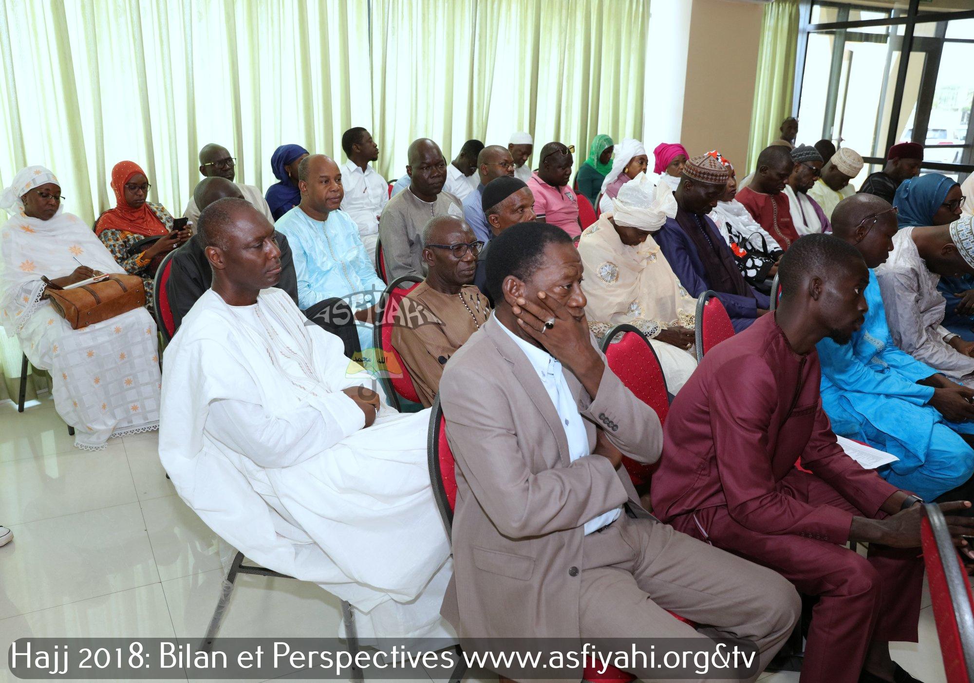 EN IMAGES - Point de Presse de la Délégation Générale au Pèlerinage aux Lieux saints de l'Islam du Sénégal: Hajj 2018 Bilan et Perspectives