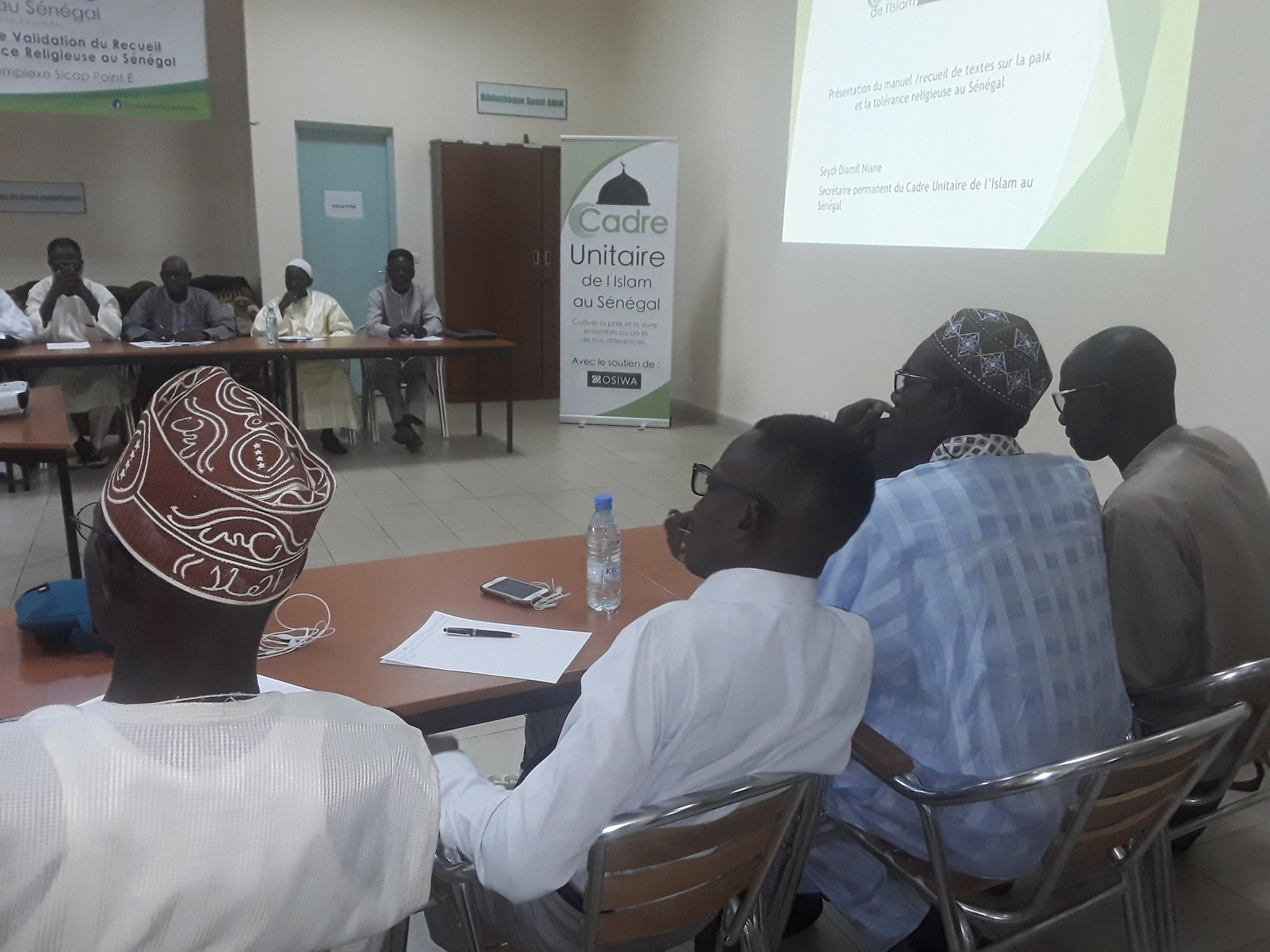EN IMAGES - Séminaire de production et de validation du Recueil/Manuel  sur la paix et la tolérance religieuse au Sénégal