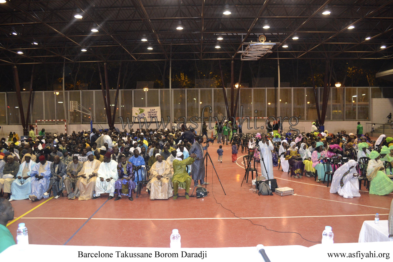 PHOTO - ESPAGNE - BARCELONE : Les Images du Takoussan Borom Daara Ji organisé par le Dahiratoul Moutahabina Filahi de Barcelone