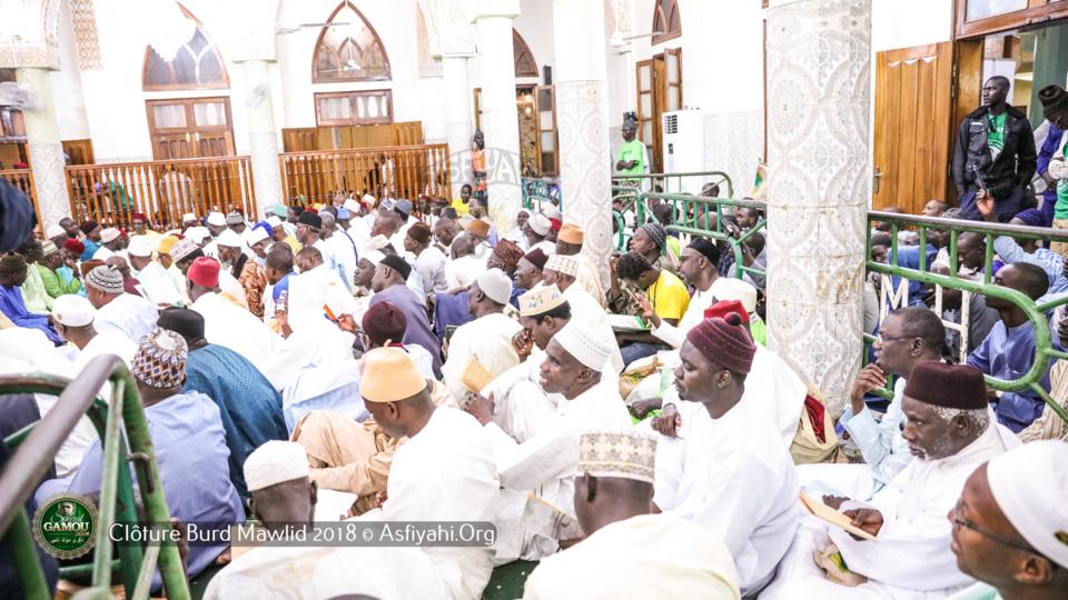 PHOTOS - GAMOU 2018- Les Images de la Clôture du Burd à la Zawiya El Hadj Malick Sy