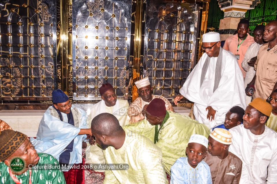 PHOTOS - GAMOU 2018- Les Images de la Clôture du Burd à la Mosquée Serigne Babacar SY (rta)