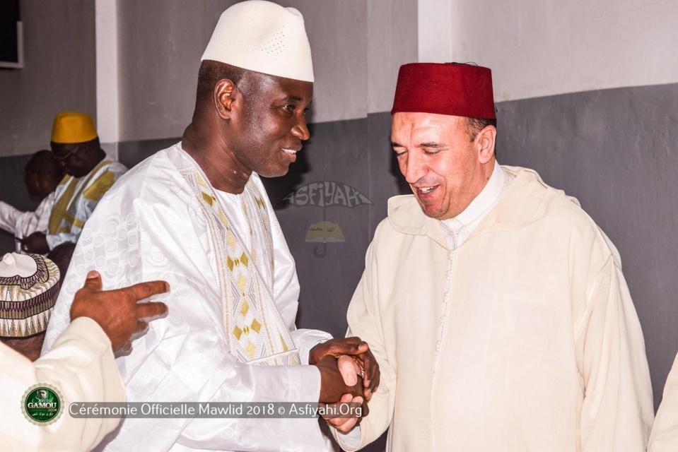 PHOTOS - GAMOU 2018 - Les temps-forts de l'accueil  des délégations officielles  par la Famille de Seydil Hadj Malick SY (rta)