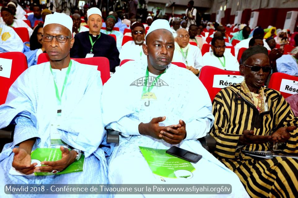 PHOTOS - Les Images de la conférence internationale co-organisée par la Cellule Zawiya Tijaniyya et International Interfaith Peace corps (IIPC), sur le thème «  Religions, Paix et prospérité en Afrique »