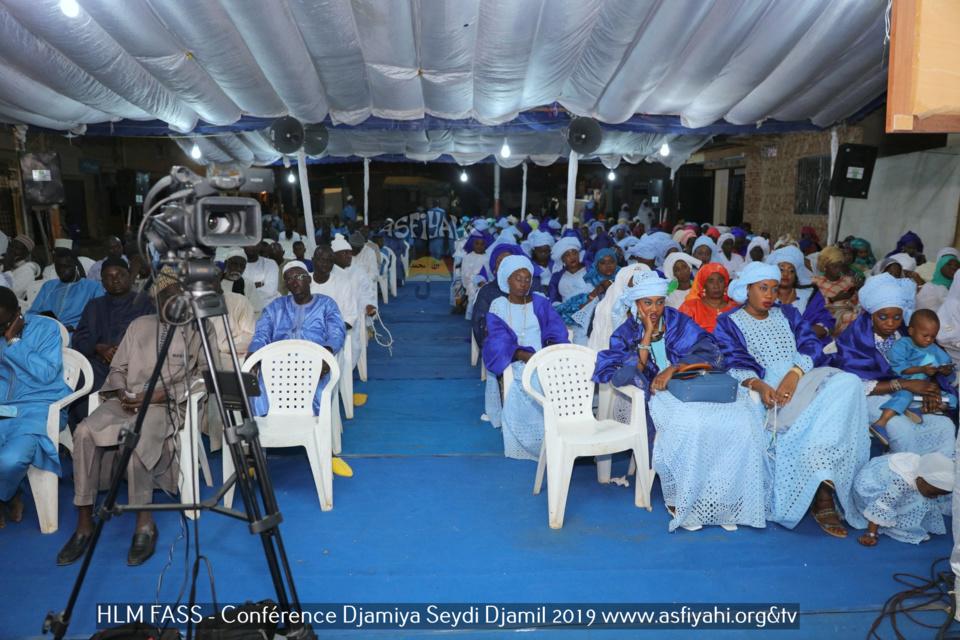 PHOTOS - HLM FASS - Les Images de la Conférence du Djamiya Seydi Djamil 2019, animée par Oustaz Diabel Koité