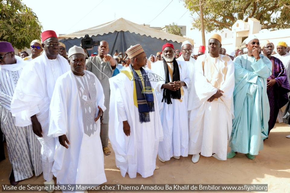 PHOTOS - BAMBILOR - Les Images de la visite de Serigne Habib Sy Mansour chez Thierno Amadou Ba Khalif de Bambilor