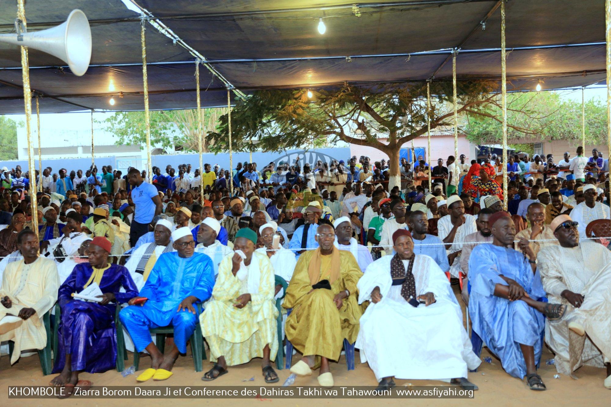 PHOTOS -KHOMBOLE : Les Images de la Ziarra Borom Daara Ji et Conference des Dahiras Takhi Wa Tahawouni , Samedi 13 Avril 2019