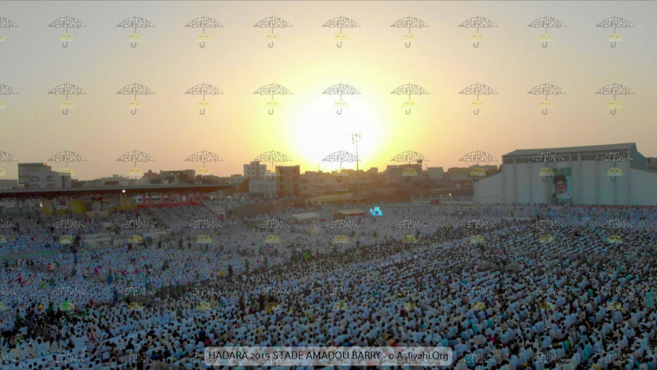 PHOTOS - STADE AMADOU BARRY - Les Images de la Hadaratoul Jumma 2019 organisée par Abnâ'u Hadrati Tijaniyati