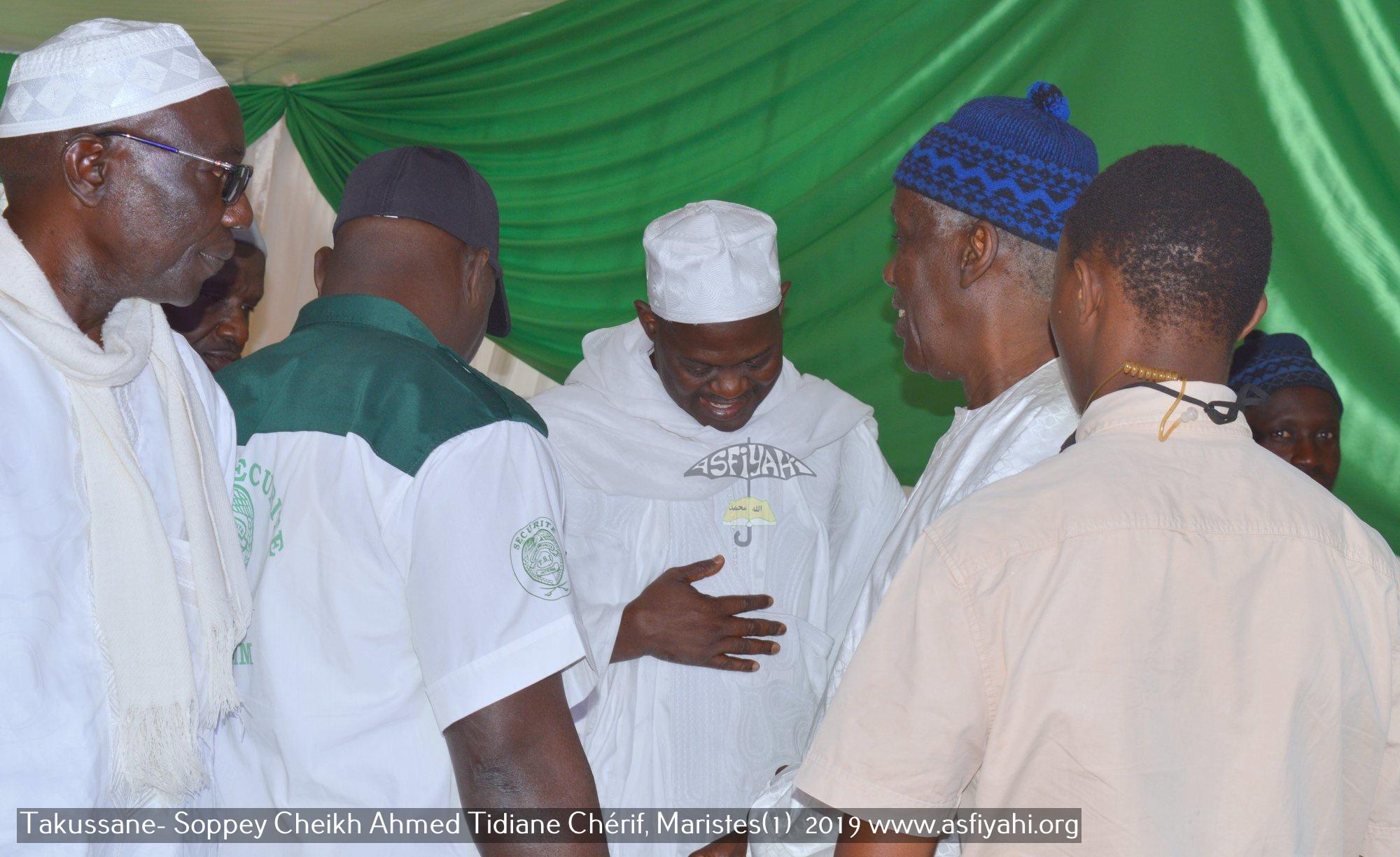 PHOTOS - MARISTES - Les Images du Takussan Cheikh du Sopey Cheikh Ahmed Tidiane Chérif (rta) présidé par Serigne Mbaye Sy Abdou2019