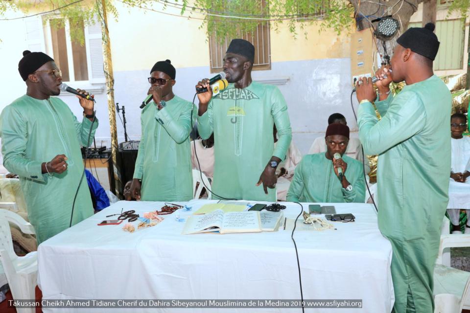 PHOTOS - MEDINA 2019 - Les Images du Takussan Cheikh Ahmed Tidiane Cherif (rta) du Dahira Sibeyanoul Mouslimina de la Medina