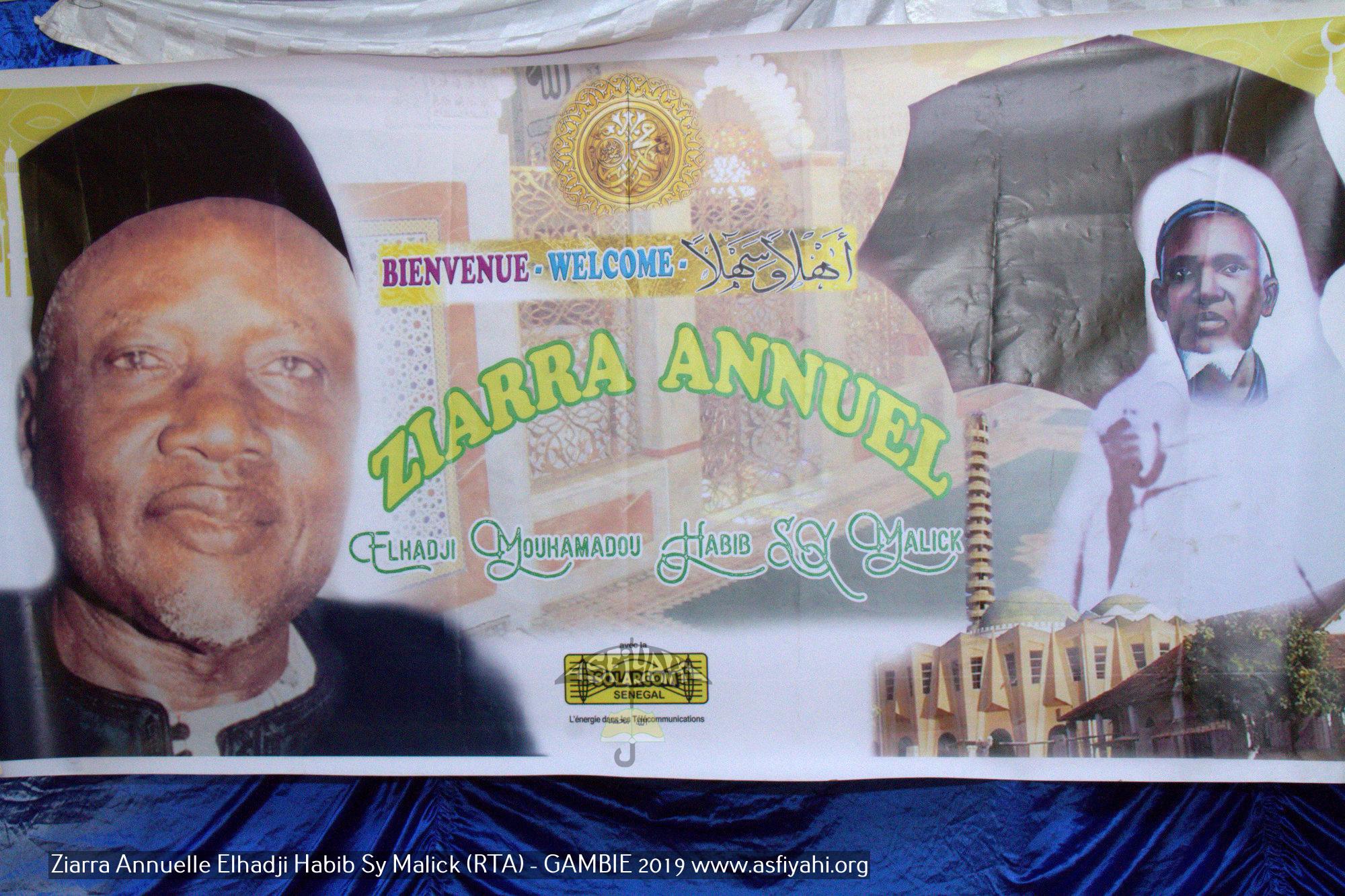 "PHOTOS - GAMBIE - Les Images de la Ziarra annuelle El hadji Habib Sy Malick (rta) ""Takussan Naby"", présidé par Serigne Mame Ousmane Sy Habib"