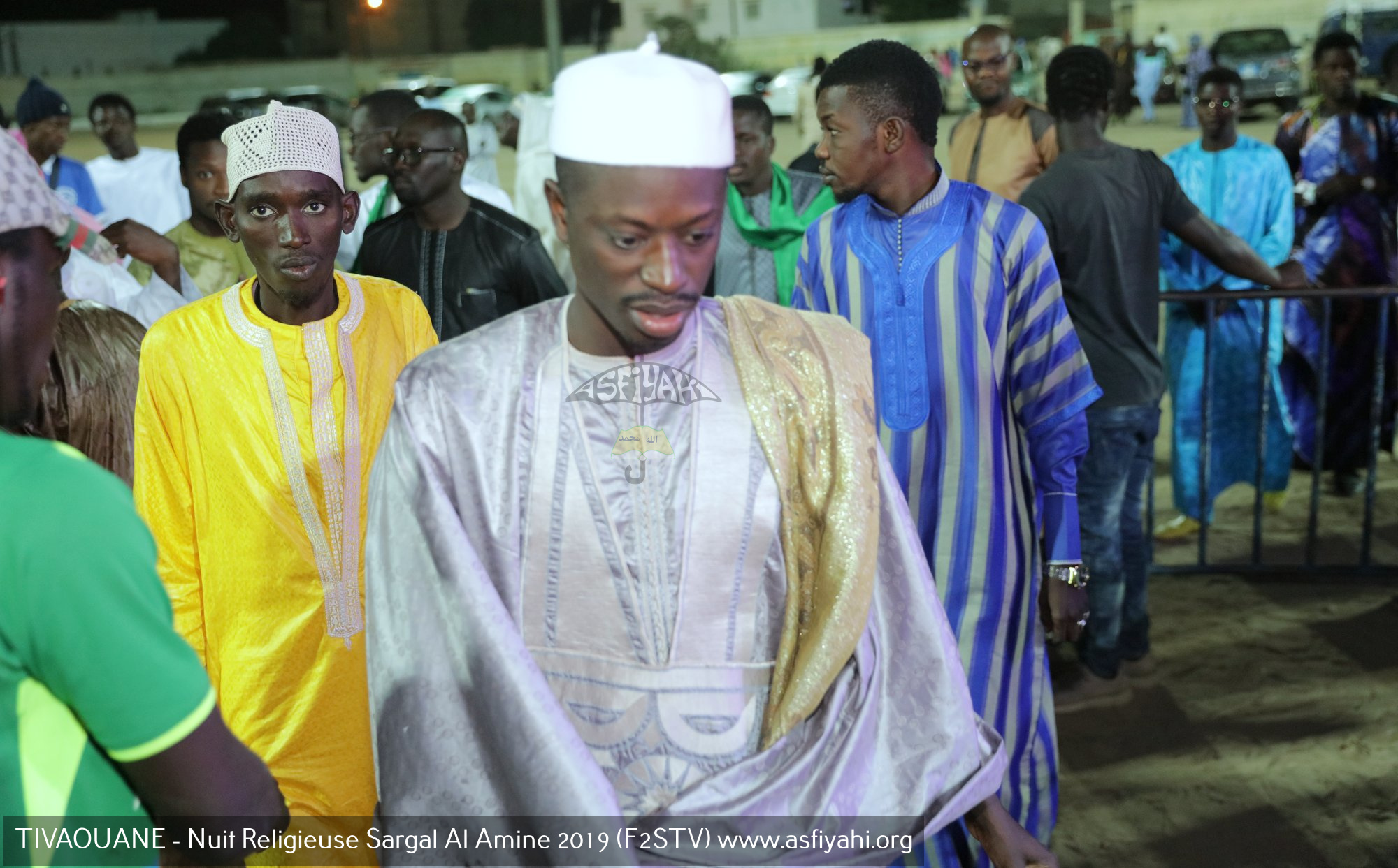 PHOTOS - TIVAOUANE - Les images de la Nuit Religieuse Sargal Al Amine 2019 organisée par le F2STV