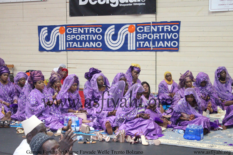 ITALIE - Les Images du  Gamou 3iéme édition 2019 de la journée Culturelle et Religieuse de la Fondation Mame Fawade Welle Trento Bolzano co-présidé par Serigne Habib Sy Mansour et de Sokhna Oumou Khairy Sy Assiètou
