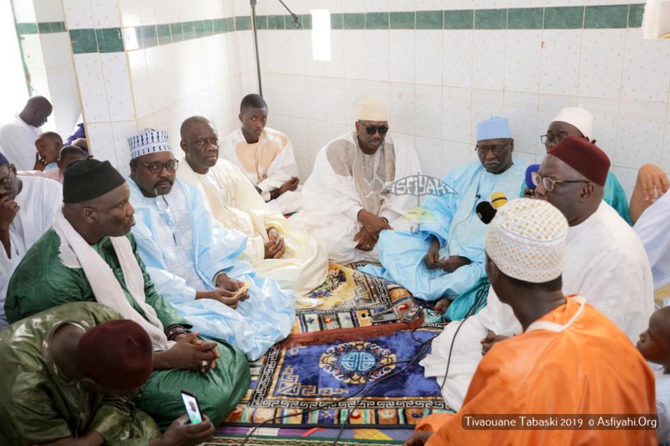 PHOTOS - TABASKI 2019 À TIVAOUANE - Les images de la Priere de l'Eid El Kebir à la Mosquée Khal-Khouss, présidée par Serigne Babacar Sy Mansour, Khalif General des Tidianes