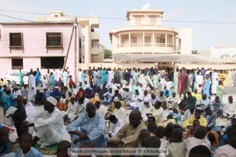 PHOTOS - TABASKI 2019 À TIVAOUANE - Les Images de la Priere de l'Aid El Kebir à la Mosquée Serigne Babacar Sy (rta)