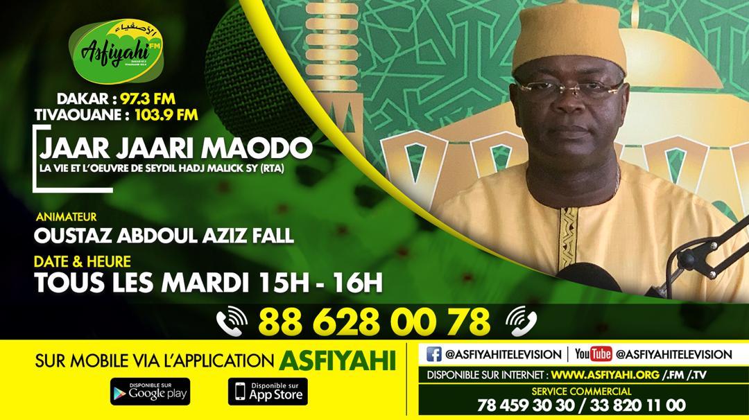 JAAR_JAARI MAODO par Oustaz Abdoul Aziz FALL