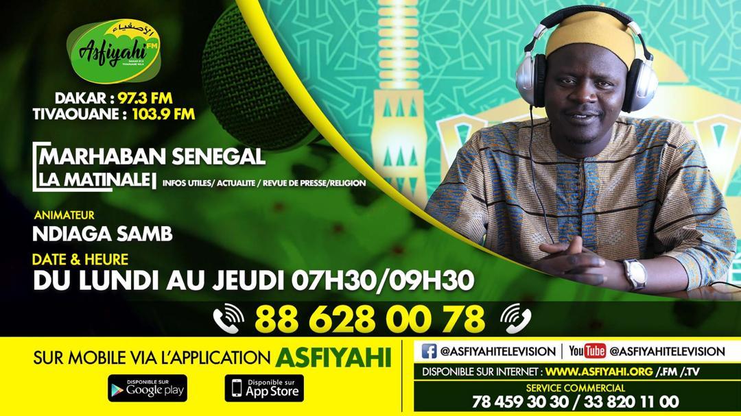 MARHABAN SENEGAL du 05 Septembre 2019 Animée par Oustaz NDIAGA SAMB