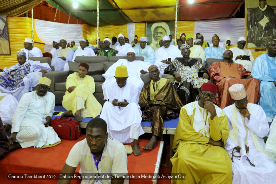 PHOTOS - MEDINA - Les images du Gamou Tamkharit 2019 du  Regroupement des Tidianes de la Médina, presidé par Serigne Babacar SY Mansour, Khalif General des Tidianes