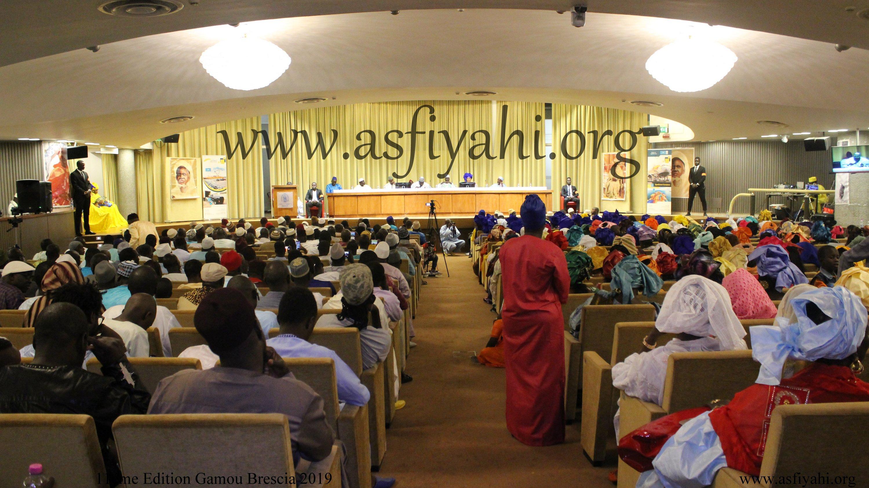 PHOTO - ITAILIE - BRESCIA: Les images de la Conférence du Dahiratoul Moutahabina Fillahi de Ghedi présidée par Serigne Habib SY Mansour