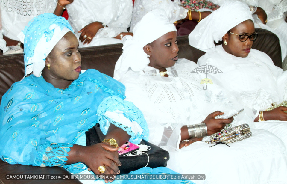 PHOTOS - LIBERTE 4 - Les Images du Gamou Tamkharit 2019 du Dahiratoul Mouslimina Wal Mouslimati Junior, présidé par Serigne Habib SY Ibn Serigne Babacar Sy Mansour