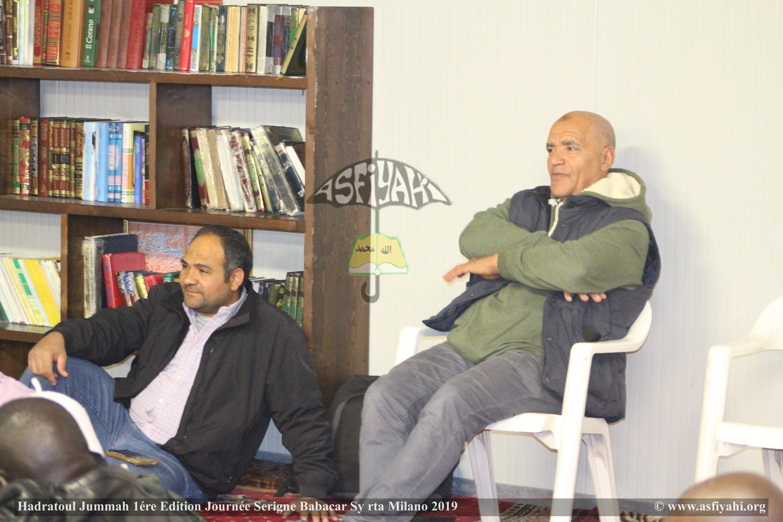 PHOTO - ITALIE - MILAN : Les Images de la Hadratoul Jummah en prélude de la Journée Serigne Babacar Sy rta à Milano sous la présence de Serigne Moustapha Sy Abdou