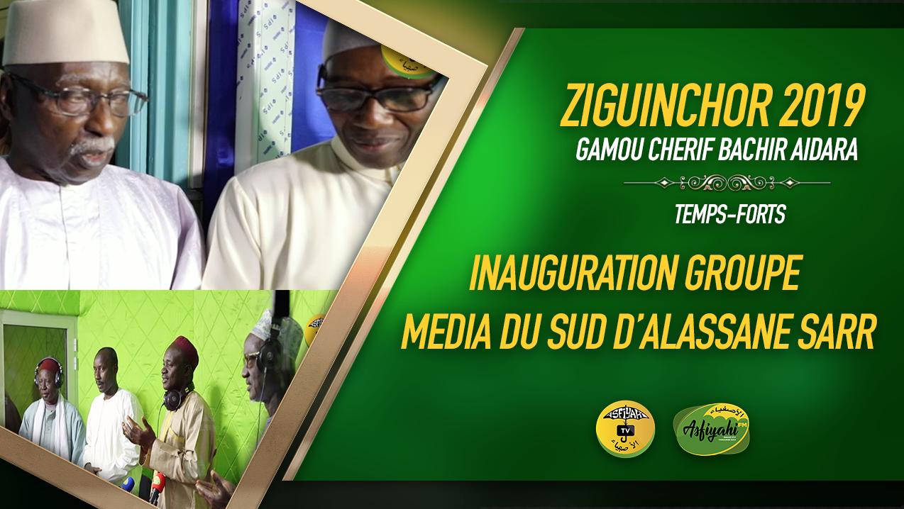 PARTIE 4 - ZIGUINCHOR 2019 - L'Inauguration du groupe Media du Sud d'Alassane Sarr par Serigne Babacar Sy Mansour
