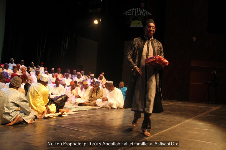 PHOTOS - GRAND THÉÂTRE - Les Images de la nuit du Prophète (psl) organisée par El Haddj Abdallah Fall et famille