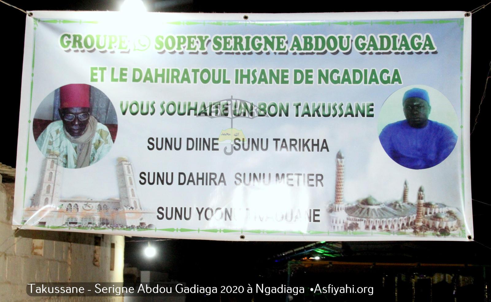 PHOTOS - NGADIAGA 2020 - Les images du Takussane Serigne Abdou Gadiaga, présidé par Serigne Pape Gadiaga