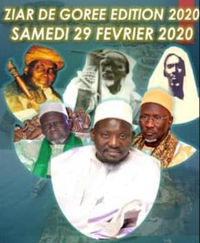 GORÉE - Ziarra annuelle ce Samedi 29 Février 2020, organisée par Serigne Lamine NDIEGUENE Al Amine et la TA IFATOUL MOUHAMADIYATOUL IDAMIYA