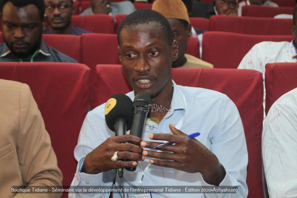 PHOTOS - Les Images du Séminaire sur le développement de l'entrepreneuriat Tidiane, Édition 2020, organisé par la Boutique Tidiane