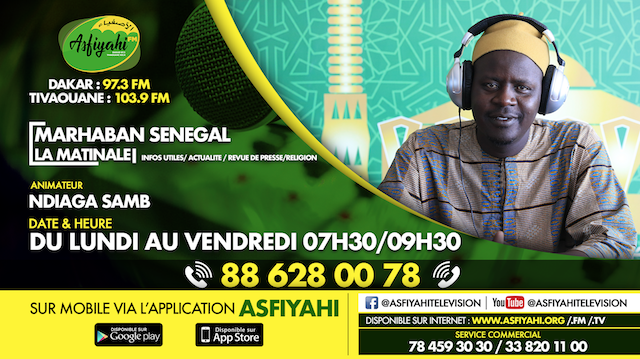Marhaban Senegal Du Mercredi 11 Mars 2020 Par Oustaz Ndiaga Samb