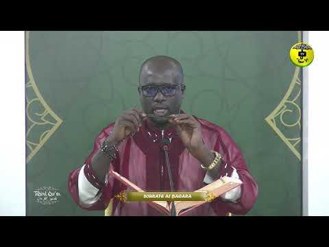 Tafsirul Quran Episode 21 Avec Professeur Mame Ousmane Ndiaye - Soutate Al Baqara
