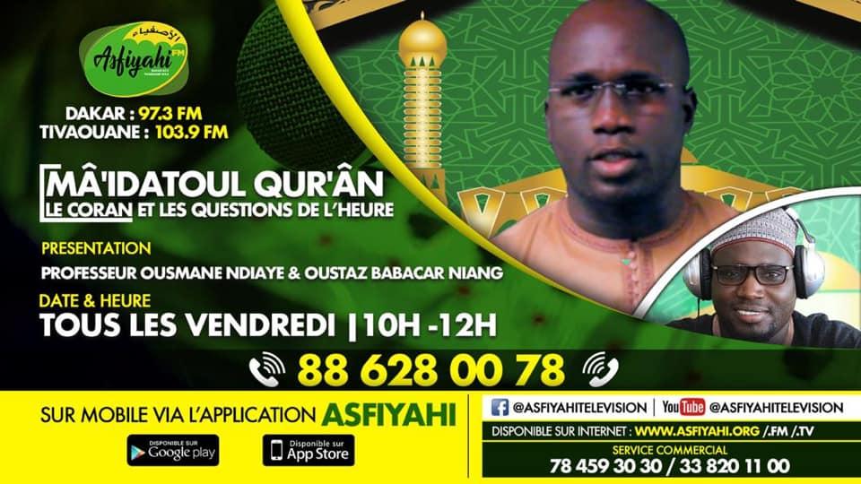 MAIDATOUL QURAN DU 10 Juillet 2020 - Sourate 104 Al Humazah PAR PROFESSEUR MAME OUSMANE NDIAYE