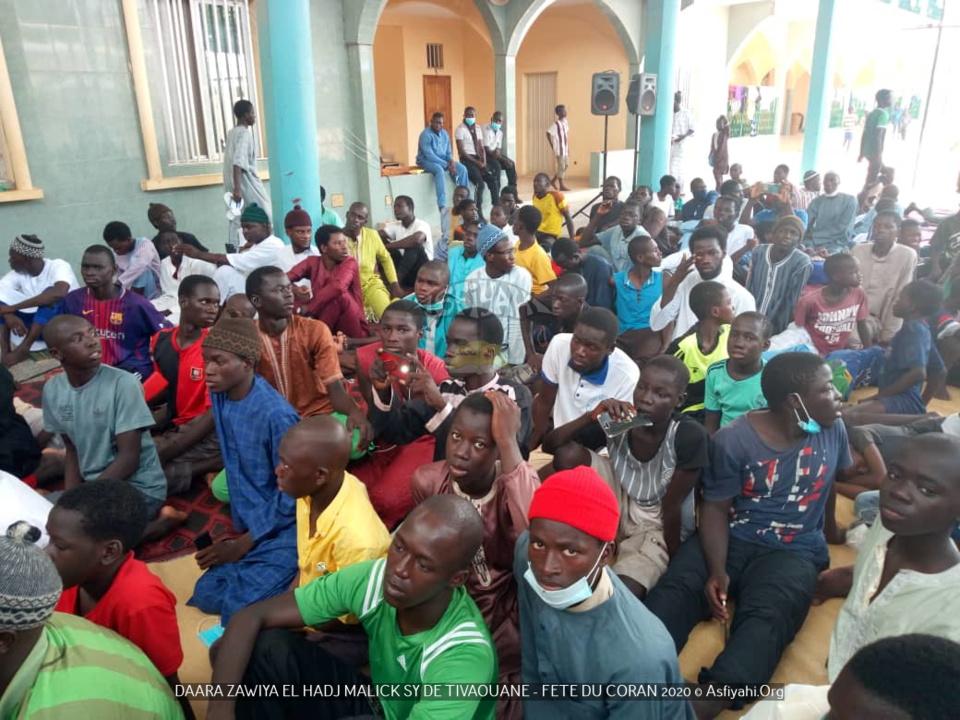 PHOTOS - FÊTE DU CORAN AU DAARA de la ZAWIYA ELHADJI MALICK SY de TIVAOUANE - Les apprenants prennent congés (BEUR) pour les besoins de la Tabaski