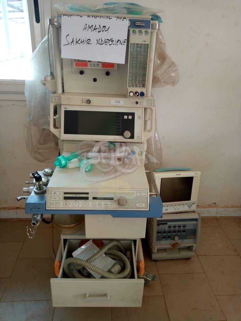 PHOTOS - DIAKSAO - SANTÉ PUBLIQUE: Important Don de la famille de Seydil Hadj Malick SY d'une valeur de 40 millions en matériel médical dont une ambulance médicalisée