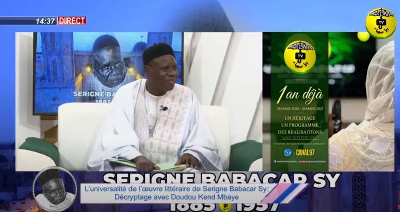 SPECIAL 25 MARS - Mindu Serigne Babacar Sy.Décryptage avec Doudou Kend Mbaye et Sam Mboup