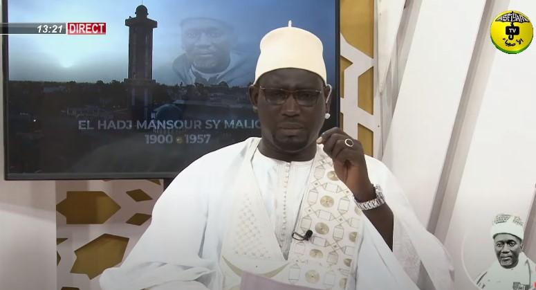 EDITION SPECIALE : Présentation du mémoire de Adama Diop sur El Hadj Mansour Sy
