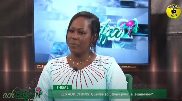 Ach chifa du 23 Mai 2021 Théme: LES ADDICTIONS Invitée: Dr Maimouna Diéye psychiatre-Addictologue