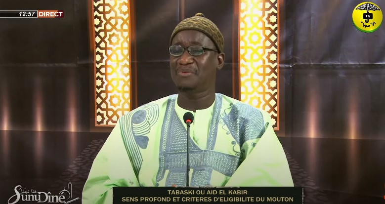 SUNU DINE DU 07 JUILLET 2021 - SPECIAL TABASKI - Invité: Oustaz Oumar Gueye