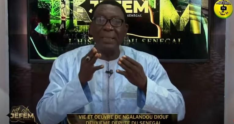 Nit ak Jeufem du 14/07/ 2021 Théme: Galandou Diouf 2iéme Député du Sénégalà la Chambre des députés