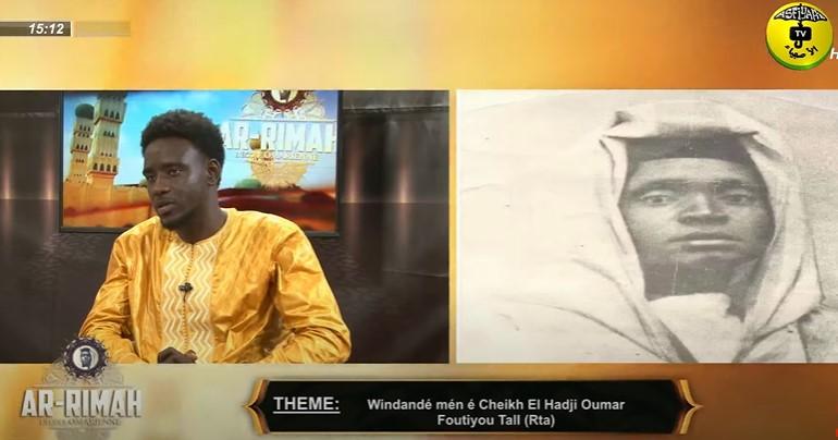 AR-RIMAH DU LUNDI 09 AOUT 2021 INVITE: THIERNO MOUNTAGA THEME: Windandé mén é Cheikh El Hadji ...