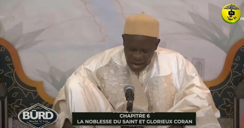 Burd 2021 - Doudou Kend Mbaye - chapitre 6: La noblesse du saint et glorieux coran burd 2021