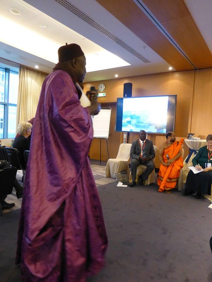 AUTRICHE : Serigne Mansour Sy Djamil réélu Co-Président de la Conférence Mondiale des Religions pour la Paix