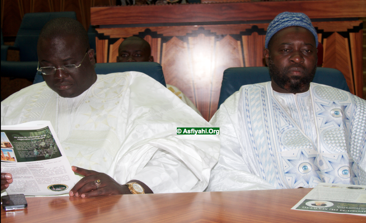 Serigne Abdou Lahat Mbacké et Serigne Cheikhouna Bara Falilou