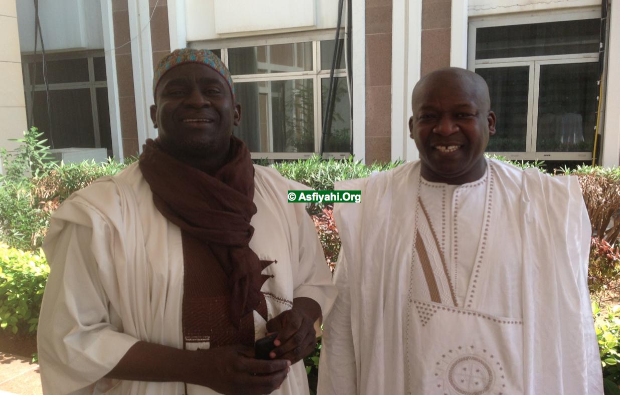 Serigne Cheikhou Oumar Sy Djamil et Serigne Mame MAlick SY Djamil