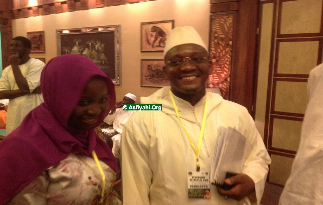 Sokhna Fatou Diaw (EutouMaodo) et Serigne Ahmed Sarr